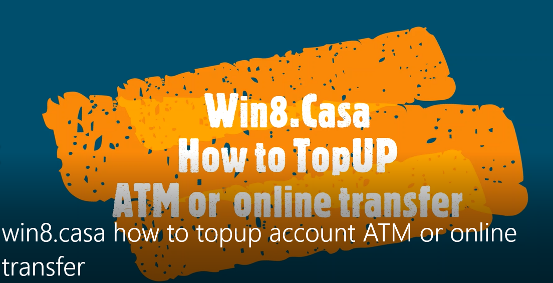 How to top-up account via ATM cash deposit or online transfer