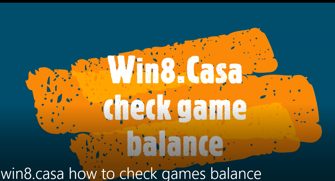 How to check games balance in 1 step