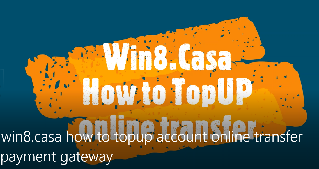 How to Top-up via online bank transfer easy and fast